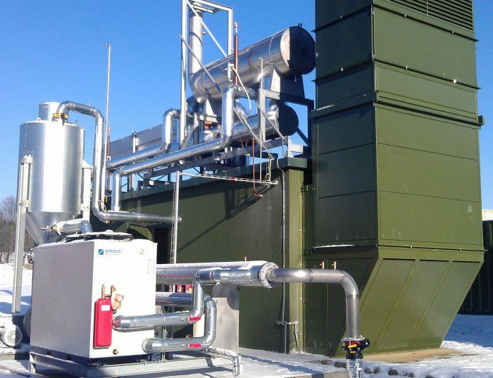 Control of 12-cylinder engine Deutz 995kW.
