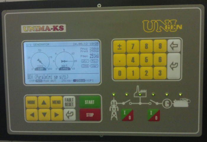 Compact control system UniGEN